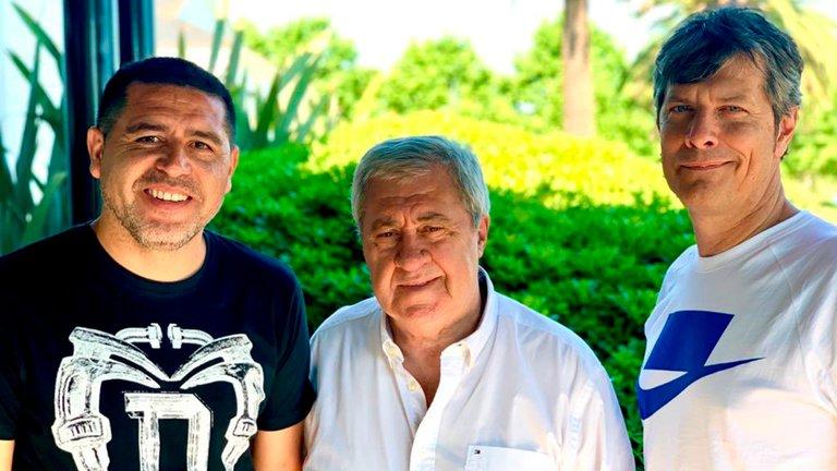 Pergolini desmintió rumores de discordia en Boca y reveló el mensaje que le mandó Riquelme