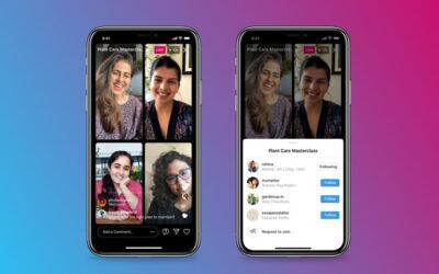 Instagram lanza Salas en Vivo